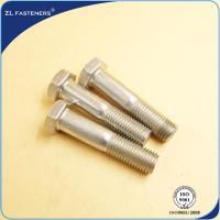 China Customized Length Stainless Steel Hex Bolts Grade 8.8 For Automotive Fasteners wholesale