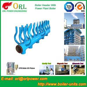 China Power Station Boiler Header Manifolds Oil Fired Boiler Unit TUV Certification wholesale