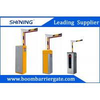 Buy cheap AC 220V 4.5m Folding Boom Barrier Gate , Automatic Barrier Gate System from wholesalers