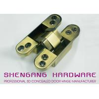 China Zinc Alloy / Aluminum Alloy Hidden Door Hinges Hardware , Heavy Duty Cupboard Door Hinges wholesale