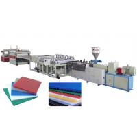China PP/PE hollow sheet extrusion line wholesale