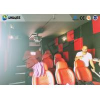 China Motion Seat In XD Theatre With Cinema Simulator System / Special Effect Machine wholesale