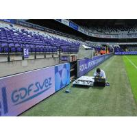 China Stadium Perimeter Sports Perimeter LED Display P8/P10 HD For Events Advertising wholesale