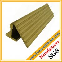 Wholesale leaded brass profile stair nosing from china suppliers