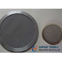 China Round Shape Filter Disc, Mainly With Stainless Steel Mesh, 10mm-1.2m Size on sale