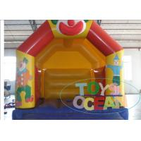 China Interesting Clown Customized Inflatable Bounce House 2 Years Warranty With Repair Kit wholesale