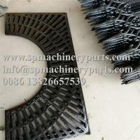 China OEM Factory Direct True Pattern New Design 1404mm x 870mm Cast Iron Tree Grate With Two Halves wholesale