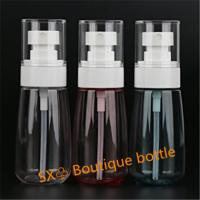 China Fine Mist Refillable Travel Containers 60ml/2oz Airless Misting Spray Bottles wholesale