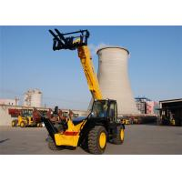 China 3500kg Automatic All Terrain Telescopic Forklift Machine 13700 mm Height wholesale