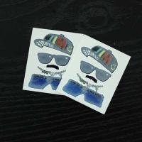 China Multi Coloured Temporary Body Tattoo Stickers , Personalised Fake Tattoos Stikers on sale