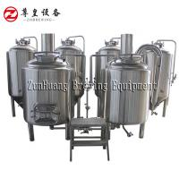 China 100L Micro Home Beer Brewing System , Stainless Steel Home Beer Brewing Machine on sale