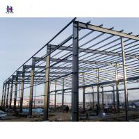 China Easy Install Assembly Pre Engineering Light Portal Frame Steel Structure Workshop With Certificate wholesale