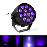 China IP33 Voice-control Violet Led Disco Lights with Black + Transparent Cover wholesale