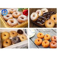 China Fully Automatic Donut Fryer , Commercial Donut Ball Machine For Dessert Shop wholesale