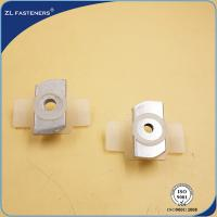 China Zinc Alloyed Coating M10 Channel Nuts , Solar End Clamps Various Sizes wholesale