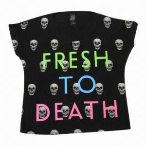 China Printed LS T-shirt wholesale