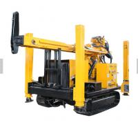 China Crawler Hydraulic Pneumatic Water Well Drilling Rig Underground Stable Performance wholesale