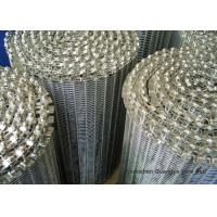 Buy cheap Balanced Weave Wire Conveyor Belts Enduring Smooth Surface Custom Design from wholesalers