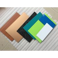 China 3 Coats Yellow Aluminum Composite Material With Corrosion And Pollutant Resistance wholesale