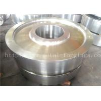 Quality DIN 34CrNiMo6 Hot Rolled Forged Steel Rings Hardness 30HRC - 40HRC Customized , for sale