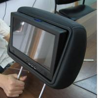China MP3 WMA Taxi Car Seat LCD Screen For Advertising , LCD Display Panel wholesale