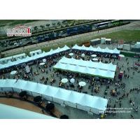 China White Event Pagoda Gazebo Canopy Tent , Aluminum Frame Removable Equipment Marquee for Ramadan wholesale