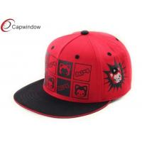 China Black Sandwich Beak Velcro Strap Back Hats 6 Panel Baseball Caps For Women wholesale