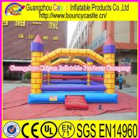 China Advance Grade Inflatable Jumping Moonwalk wholesale