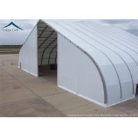 China Fabric Covered Buildings Durable Aircraft Hangar With Heavy Duty Materials wholesale