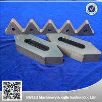 Cr12Mov Material Plastic Granulator Blades For Copper Cables High Toughness for sale