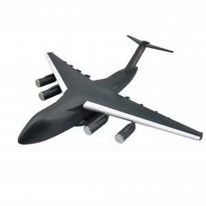 China Hand Painted Resin SLA 3D Printing Service , Rohs Airplane 3D Printing wholesale