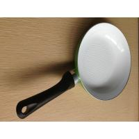 China Ceramic Coating Fry Pan , Aluminum Nonstick Stamped Flat Pans wholesale