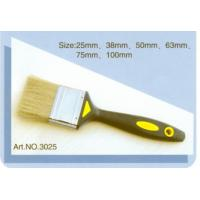 Plastic handle pure natural bristle Chinese bristle synthetic mix paint brush No.3025