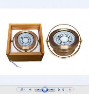 China 6 inch Marine ship Brass Compass wholesale