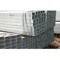 China Square 0.5mm Pre Galvanized Steel Pipe EN10219 , Square Thick Wall Pipe wholesale