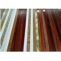 China Supply wood grain aluminium window and  door profiles wholesale