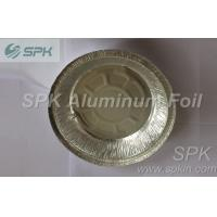 China Colorful Disposable Aluminum Round Foil Baking Trays Carry Out Food Containers wholesale