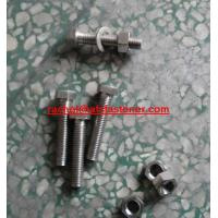 China incoloy825 hex head bolt Inconel825 NS1422.4858 full thread fastener wholesale