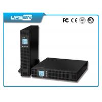 China High Frequency DC AC Inverter LCD Display Rack Mount With Battery Pack wholesale