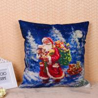 China 45 * 45cm Cotton Linen Decorative Pillow Covers For Couch Eco Friendly wholesale