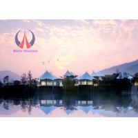 Wholesale High End Prefab Luxury Tent Hotel Permanent Tent House Hi - Tech Material Modern Style from china suppliers