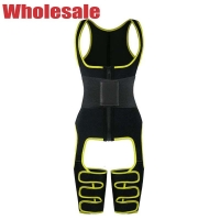 China Neoprene Thigh Trimmer 6XL Full Body Waist Cincher Adjustable Leather Belts wholesale