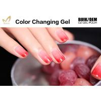 China Chemical Free Heat Activated Color Changing Nail Polish With 72 Color Options wholesale