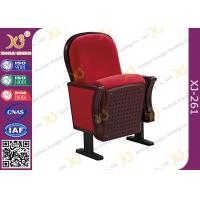 China Cold Molded PU Foam Latest Design Low Back Auditorium Theater Seating For Music Hall wholesale