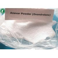 China White Powder Oxandrolone Anavar Raw Steroid Powders CAS 53-39-4 For Bodybuilding wholesale