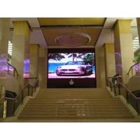 China Pixel pitch 7.62mm Indoor advertising display screen, indoor led panel on sale