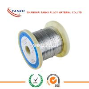 China CuNi44 CuNi45 Cu56Ni44 CuNi44Mn Constantan Copper Nickel Alloy Resistance Flat Ribbon Wire wholesale