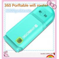 Quality 360 Free Pocket WiFi Router 360 Portable USB WiFi Router Available for Computer for sale