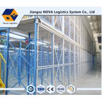 China NOVA Brand High Space Utilization Multi Tier Mezzanine Rack / Adjustable Metal Shelving wholesale