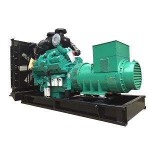 China High Performance 3 Phase Cummins Diesel Generator Set 750KVA Long Service Life wholesale